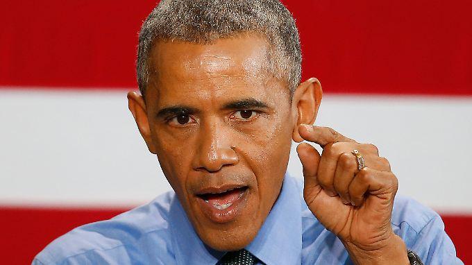 US-Präsident Obama sieht die Debatte als Teil eines größeren Problems in den USA.
