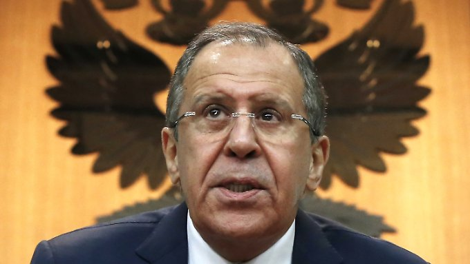 Russlands Außenminister Lawrow fordert Transparenz.
