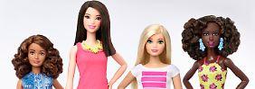 """Hersteller will """"mit Zeit gehen"""": Barbie-Puppe gibt es jetzt mit Hüfte"""