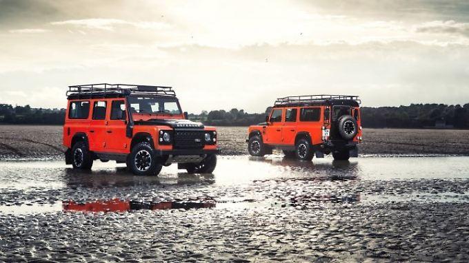 Abschied nach 68 Jahren: Letzter Land Rover Defender läuft vom Band