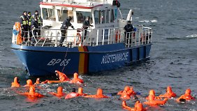 Ostsee-Übung für Ägäis-Einsatz: Bundespolizei trainiert die Rettung von Flüchtlingen