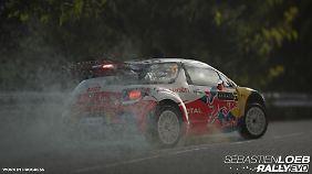 Auch der Citroen DS3 Redbull ist eines der Siegerautos von Loeb.