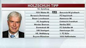 """Holzschuh tippt den Spieltag: """"Wolfsburger scheinen von allen guten Geistern verlassen"""""""