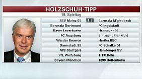 """Holzschuh tippt den Spieltag: """"Wolfsburger scheinen von allen guten Geistern verlassen zu sein"""""""