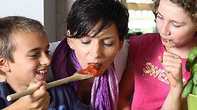 Essen macht Spaß, wenn es schmeckt und gemeinsam gekocht wurde.