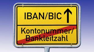 Kontodaten-Umstellung am 1. Februar: Fragen und Antworten zum neuen IBAN-System