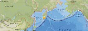 In 100-km-Umkreis spürbar: Erdbeben erschüttert Osten Russlands