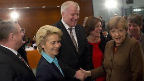 Kompromiss beim Asylpaket II: Große Koalition legt Streit nur auf Eis