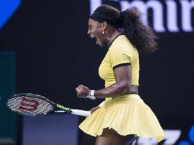 Sechsmal gewann Serena Williams die Australien Open - diesmal aber nicht.