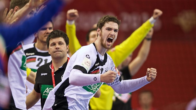 Durch die Siege haben die deutschen Handballer mächtig Selbstvertrauen getankt.