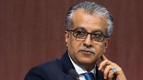 Umstritten ist bei Fifa-Präsidentschaftskandidat Scheich Salman aus Bahrain noch untertrieben.