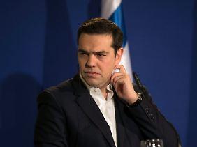 Alexis Tsipras bekommt Druck von allen Seiten.