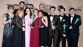 """Auch für den Cast von """"Downton Abbey"""" gab es einen Preis."""