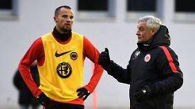 Trainer Armin Veh beklagt Seferovics Egotrip.