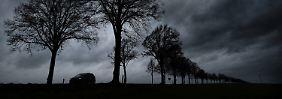 Wind schwächt vorerst etwas ab: Sonntag gibt's klassisches Schmuddelwetter