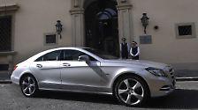 Mercedes CLS: Vom Schwung zur Kante