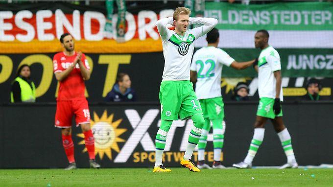 Wieder nix: Andre Schürrle und der VfL Wolfsburg warten nun schon seit sechs Partien auf einen Bundesligasieg.