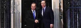 """""""Notbremse"""" für Sozialsysteme: London meldet Durchbruch in Verhandlungen"""