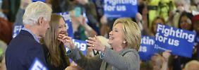 Vorwahlen in den USA: Nur in Iowa wird Sanders Clinton gefährlich