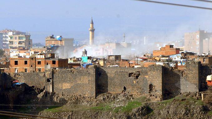 In der Kurdenhochburg Diyarbakir wird seit Wochen gekämpft.