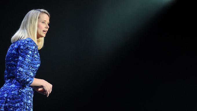 Konzernchefin Marissa Mayer steht bei den Aktionären unter Dauerfeuer.