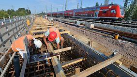 28 Milliarden Euro teure Sanierung: Bahn-Kunden müssen sich auf neue Bauarbeiten einstellen