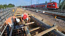 850 Baustellen pro Tag: Bahn-Konkurrenten fordern Schadenersatz