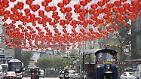 Der Feuer-Affe besteigt den Thron: Chinesen feiern Neujahrsfest - tagelang