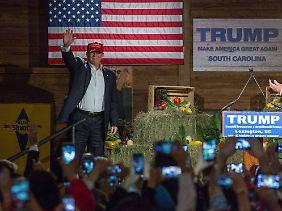 Muss Trump seine Wahlkampf-Auftritte bald ohne musikalische Untermalung absolvieren?
