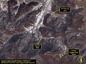 """VIP Housing Area"": Wird Kim Jong Un von hier aus den Raketentest beobachten?"