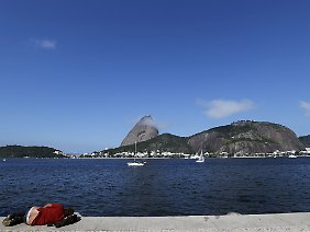 In Rio startet die längste Buslinienstrecke der Welt.