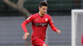 Federico Barba ist erst seit Montag beim VfB unter Vertrag.