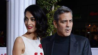 Promi-News des Tages: George Clooney äußert sich zu wilden Spekulationen