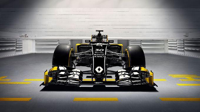 Wir stellen vor: den neuen Renault-Werksboliden.