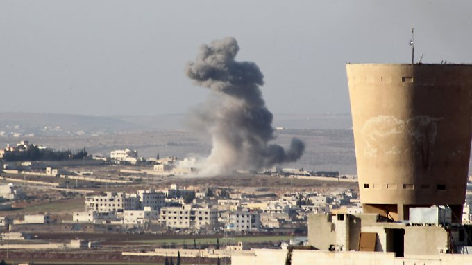 Nördlich von Aleppo unterstützte die russische Armee das Assad-Regime, um eine Schneise ins Rebellengebiet zu schlagen.