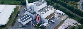 EEW-Müllverbrennungsanlage in Hannover.