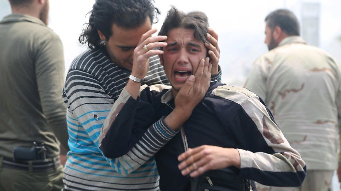 Die Milliarden sollen auch den Menschen zugute kommen, die noch in Syrien ausharren.