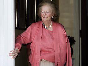 Heute ist Thatcher gesundheitlich sehr angeschlagen (Archivbild vom 29.06.2009).