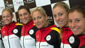 Mit Musik zum Sieg?: Angelique Kerber soll deutsches Fed-Cup-Team ins Halbfinale führen