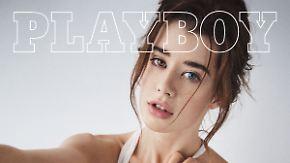 """Geheimnisvoll"" statt nackt: Dieses Cover revolutioniert den US-Playboy"