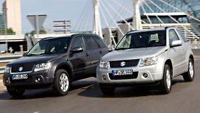 Die Domäne svon Suzuki sind Klein- und Kleinstwagen, vor allem solche mit Allradantrieb. Hier hat das Kompakt-SUV Vitara stets eine wichtige Rolle gespielt.