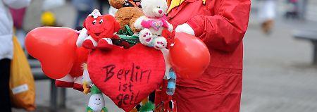 Gleiche Brüder, gleiche Kappen: Der Berliner kann auch