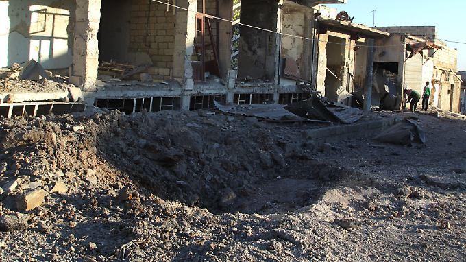Nach fast vierjährigen Kämpfen liegt die syrische Großstadt Aleppo in Schutt und Asche.