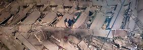 17-stöckiges Gebäude umgekippt: Erdbeben erschüttert Süden Taiwans