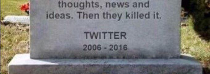 #RIPTwitter: Aussicht auf Wandel versetzt Nutzer in Panik