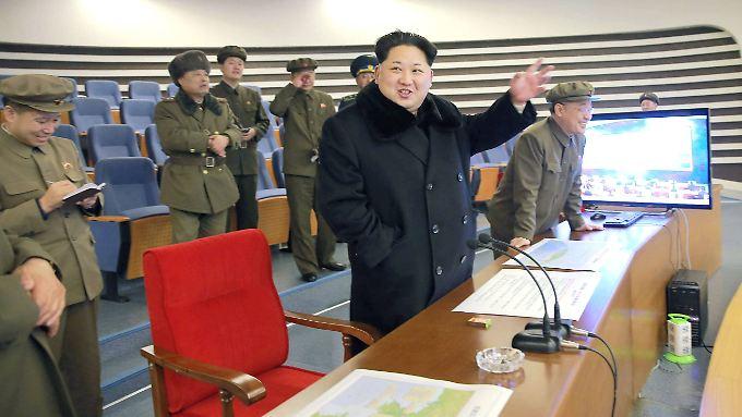 Startbefehl trotz Warnungen: China hatte vor wenigen Tagen noch einen Unterhändler nach Pjöngjang geschickt, um den Raketentest zu verhindern.
