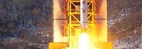 Nordkoreas Atomwaffen-Pläne: Kim arbeitet Punkt für Punkt ab