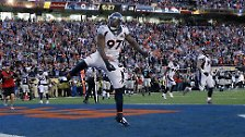 Die Denver Broncos setzten sich mit ihrem Superstar ...