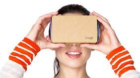 """Googles aktuelle """"Cardboard""""-Brille"""