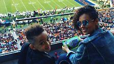 Backstage beim Super Bowl: So feiern die Stars das Spiel des Jahres